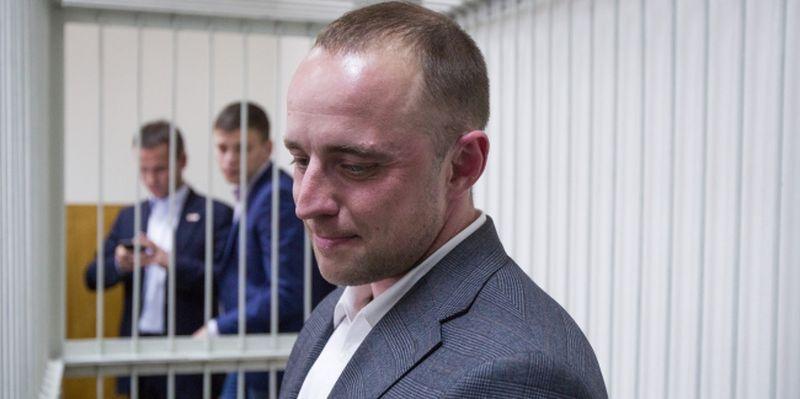The Kyiv Pecherskyi District Court considers detention of Vyshgorod Mayor Oleksii Momot arrested on suspicion of a taking a bribe