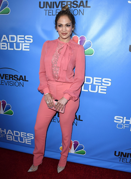 """arrives at the Television Academy Event For NBC's """"Shades Of Blue"""" at Saban Media Center on June 9, 2016 in North Hollywood, California."""