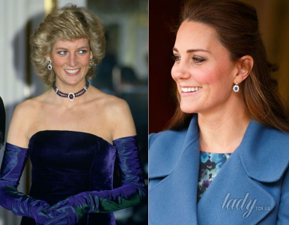 принцеса Діана і герцогиня Кейт