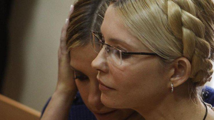 тимошенко і дочка