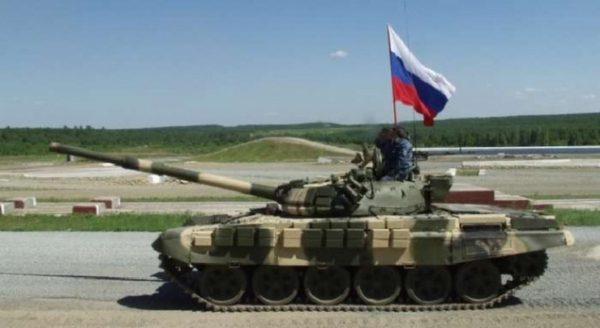 танк росія