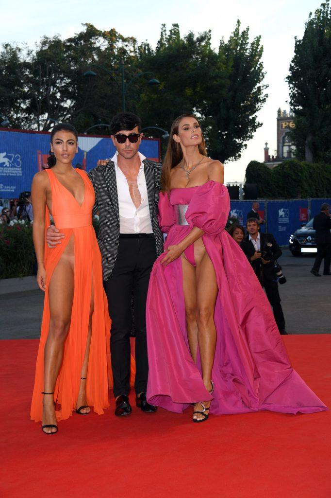 September 3, 2016 - Venice, Italy - Giulia Salemi, Dayane Mello during 'The Young Pope' red carpet at 73th Venice International Film Fest, Venice, Italy 03/09/2016 (Credit Image: Global Look Press via ZUMA Press)