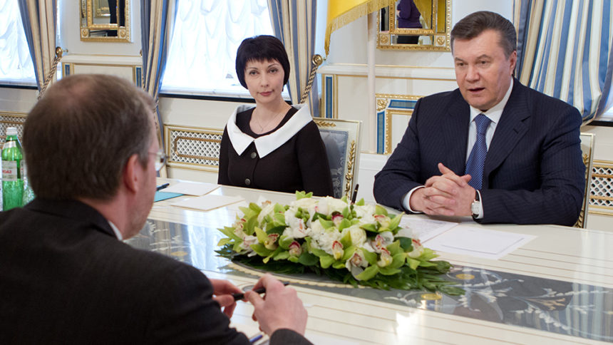 On April 4, President of Ukraine Viktor Yanukovych had a meeting in Kyiv with Executive Director of Freedom House David Kramer.