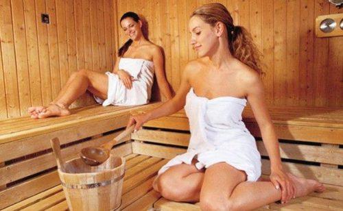 частные фото женщин в бане